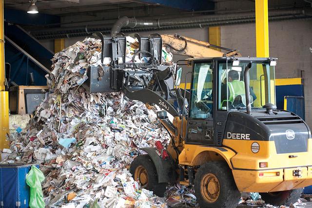 Local New York City Single Stream Recycling Facility